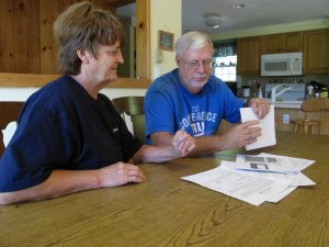 Diana and Terry Van Curen are Chesapeake leaseholders in Bradford County who say the company has been underpaying them.