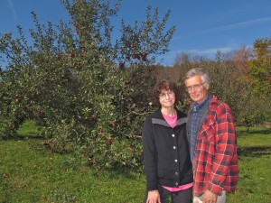 Joyce and Steve Libal run an orchard out of their 63-acre home in Apolacon Township, Susquehanna County.