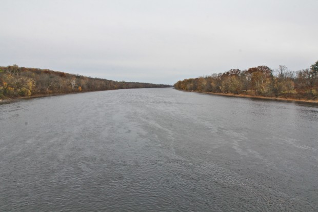 A view of the Delaware River at Washington Crossing Historic Park in Bucks County.