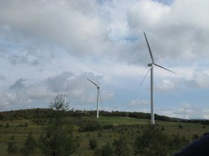 A Cambria County wind farm.