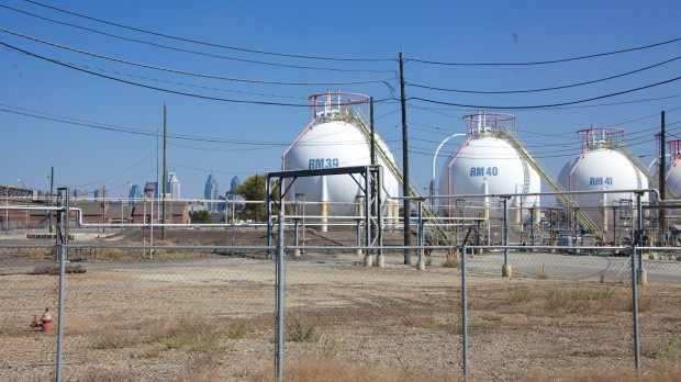 Philadelphia Energy Solutions is the largest oil refining complex on the Eastern seaboard. Half of all Bakken Crude traveling across the country by rail ends up at the PES plant.