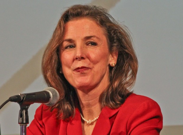 FILE: former state environmental secretary and U.S. Senate candidate Katie McGinty is joining a Philadelphia-based life sciences company.