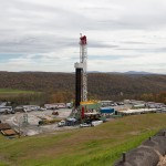 The EPA's case studies included Susquehanna County where this Cabot gas rig was working