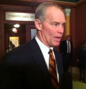 House Majority Leader Mike Turzai at the Capitol.