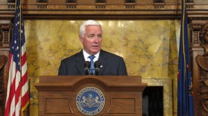 A spokesman for Gov. Corbett said the governor's office was not involved in the Department of Health's policies on handling drilling-related health complaints.
