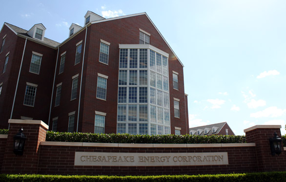 Chesapeake Energy's headquarters in Oklahoma City.