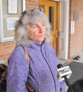 Anti-fracking activist Vera Scroggins says she wants to appeal a court ruling that permanently bars her from Cabot Oil & Gas sites.