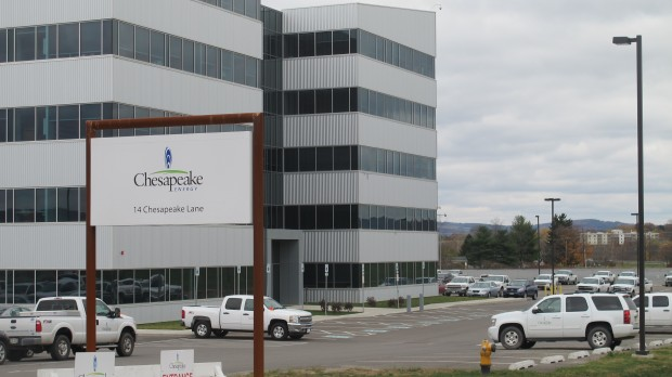 Chesapeake Energy's offices in Athens, Bradford County.