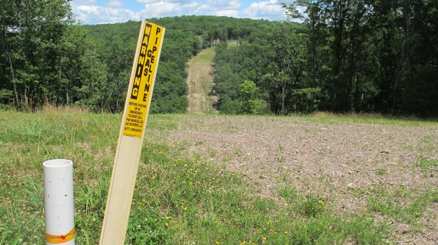 A marked interstate natural gas pipeline runs through Lycoming County.