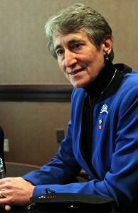 Interior Secretary Sally Jewell says fracking bans are based on a misunderstanding of science.