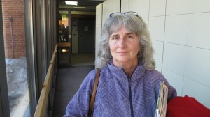 Anti-fracking activist Vera Scroggins was found to be in contempt of court for getting too close to a Cabot site.