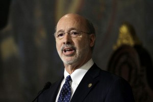 Gov. Wolf made royalty legislation part of his plan to tax the natural gas industry and raise the personal income tax.