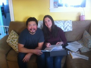 Dave and Nichole Kang reduced their heating bills from $2000 a year to $500 after switching from oil to natural gas.