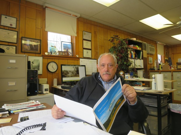 Joe Kulick is township manager of Durham, Pa., one of 27 towns along the route of the PennEast pipeline.