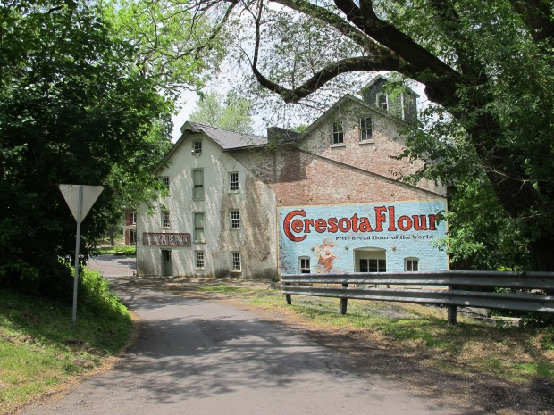 Township manager Joe Kulick wants to use grant money from the PennEast pipeline company to restore the 195-year-old Durham Gristmill.
