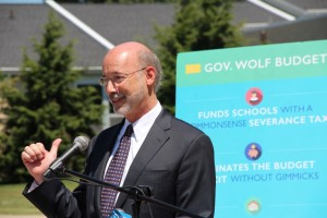 Gov. Tom Wolf has had a hard time selling new taxes, including a severance tax on natural gas, to the Legislature.