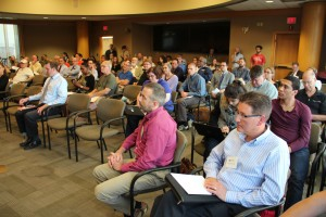 A DEP Clean Power Plan listening session at Carnegie Mellon University drew a crowd.