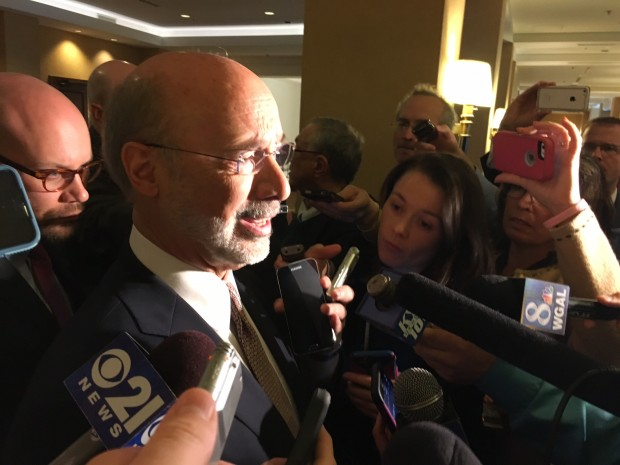 "Governor Wolf says the tentative budget deal he'd reached with Republicans is now in ""deep peril."""