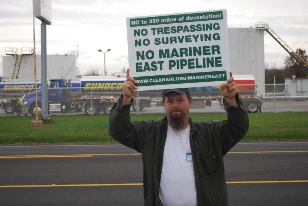 mechanicsburg mariner east protester