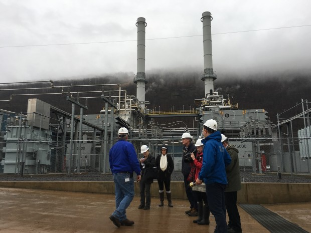 The Hunlock Creek Power station outside Wilkes-Barre used to run on coal, and now runs on natural gas. It's part of a broader shift going on in the power grid.