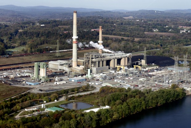 PPL's Brunner Island three-unit coal-fired plant located on the west bank of the Susquehanna River.