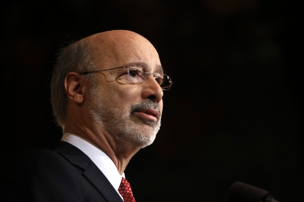 Environmentalists say they would like to see more leadership from Governor Tom Wolf