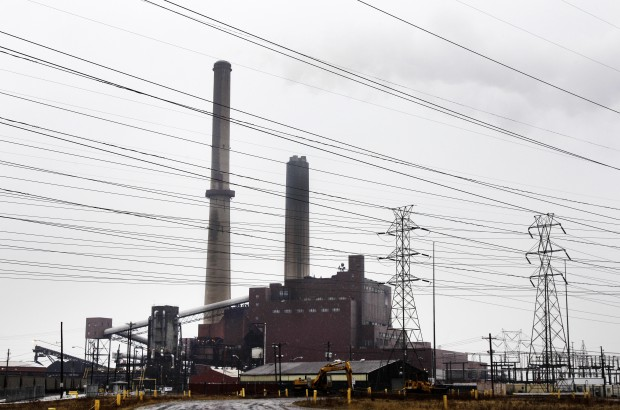 A FirstEnergy Corp. coal-fired power plant in Eastlake, Ohio that closed in 2012 along with other facilities in Pennsylvania and Maryland.