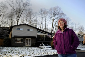 Gillian Graber's Trafford, Pa., home sits near the border of Penn Township. Graber is president of Protect PT, a nonprofit group focused on raising awareness about plans for natural gas drilling in Penn Township.