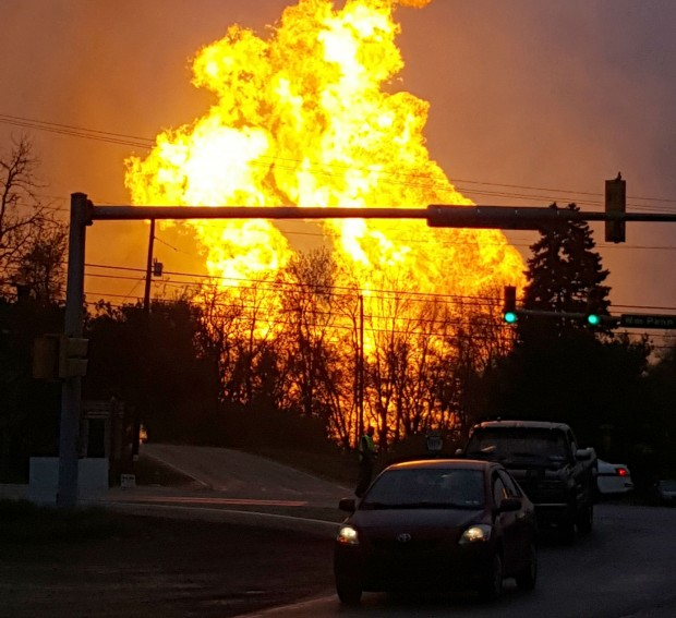 The April 29 explosion, which burned one person, caused flames to shoot above nearby treetops in the largely rural Salem Township, about 30 miles east of Pittsburgh, and prompted authorities to evacuate homes and businesses nearby.