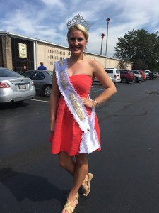 17-year-old Morgan Voithofer of Carmichaels won the title of Coal Queen at the annual pageant.