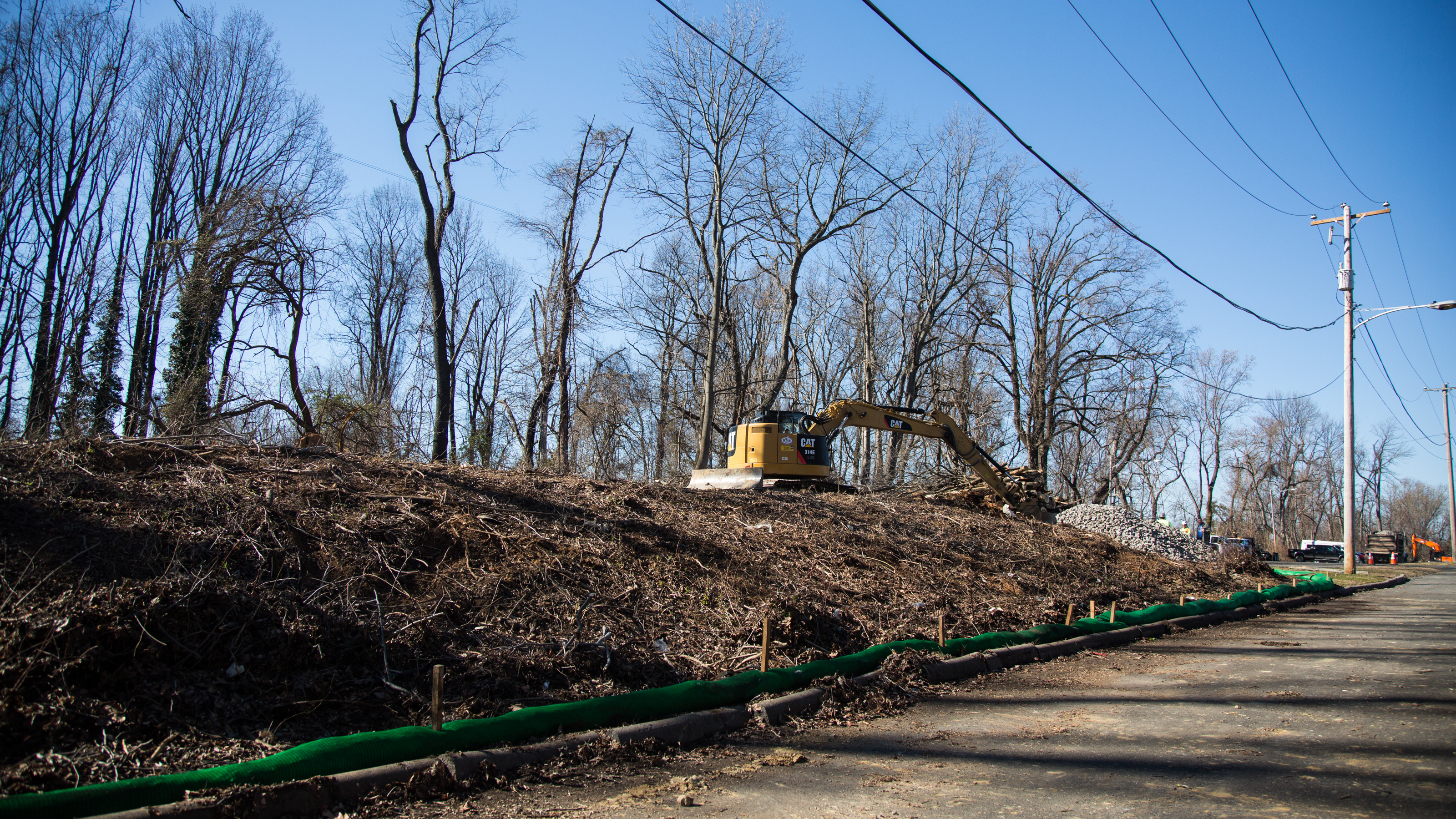 Sunoco appeals deps stop work order stateimpact pennsylvania construction equipment clears trees in aston delaware county to make way for the mariner east sciox Choice Image
