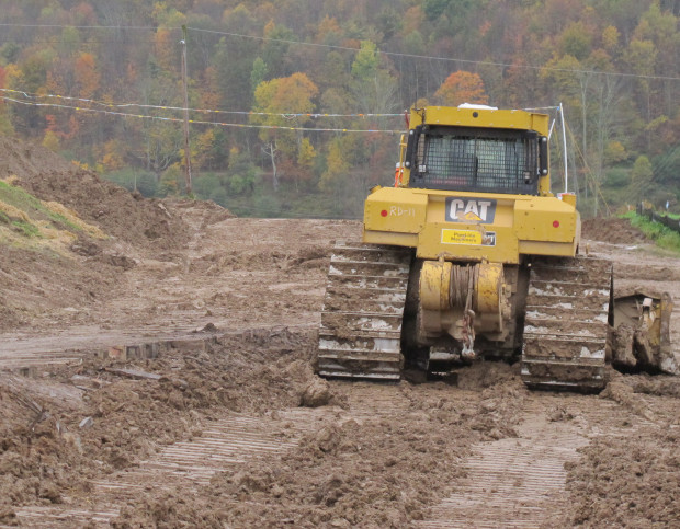 Natural gas pipeline construction site in Northeast Pennsylvania. The Federal Energy Regulatory Commission approved construction of the PennEast Pipeline project on Friday.
