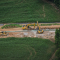 An aerial view of Sunoco Pipeline's Mariner East 2 construction in rural Pennsylvania. Plans for a new construction technique in some locations have prompted a new round of community resistance.