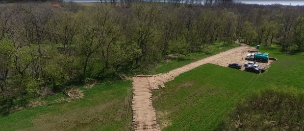 Construction on the Rover natural-gas pipeline, which will stretch from Pennsylvania to Michigan, began this year.