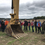 Protesters confront a construction crew for the Atlantic Sunrise pipeline in central Pennsylvania. A new PUC ruling may make it easier for communities to control pipeline development.