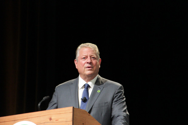 Al Gore at the Climate Reality Project in Pittsburgh. Photo: Reid R. Frazier