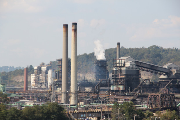 US Steel's Clairton Coke Works. Photo: Reid R. Frazier