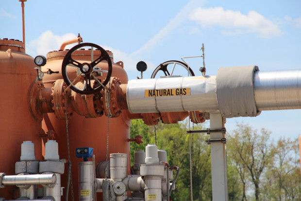 A natural gas power plant in Masontown, Pa. Photo: Reid R. Frazier