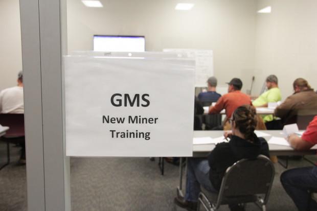 A miner training program run by GMS Mine Repair & Maintenance, a coal mining contractor, in Waynesburg, Pa. Photo: Reid R. Frazier