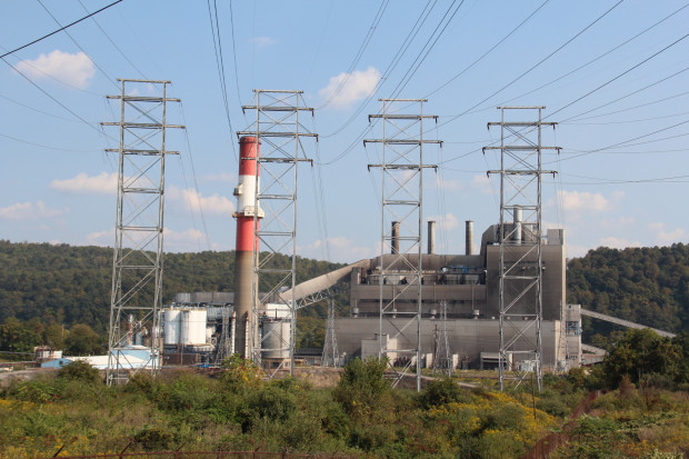 The Elrama Power Plant near Pittsburgh was closed in 2012. Photo: Reid R. Frazier