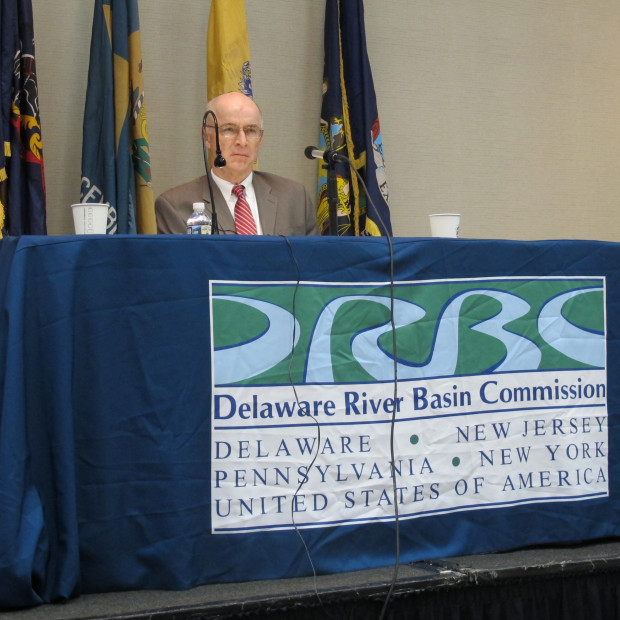 The Delaware River Basin Commission, and federal/interstate agency responsible for managing water resources in the Delaware River watershed, held a hearing on the proposed ban on fracking in the Delaware River basin on Thursday, in Philadelphia.