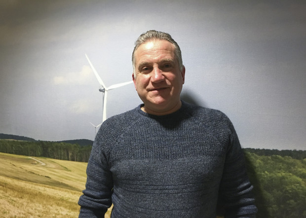Jim Spencer founded Pittsburgh-based EverPower Wind Holdings in 2002.