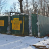 Sunoco's work on the Mariner East 2 pipeline has been suspended by the Pennsylvania environmental protection department. This photo, taken Wednesday, shows a work area off Fallbrook Lane in Glen Mills, near Philadelphia.