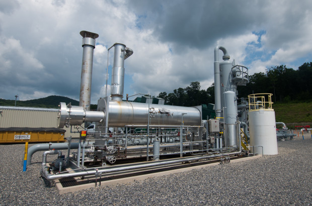 Methane leaks throughout the entire process of developping natural gas-- from wells and storage sites, to processing facilities and pipelines.