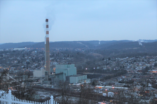 The coal-fired Cheswick Generating Station generates electricity northeast of Pittsburgh.