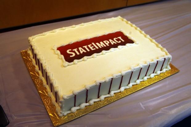 Celebration! Stateimpact cake.