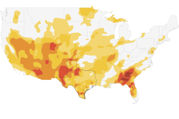 Texas drought maps and photos  NPR StateImpact
