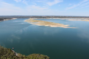 The LCRA operates the six dams on the Colorado River that form the scenic Highland Lakes of Central Texas. Photo by Reshma Kirpalani for KUT News and Reporting Texas