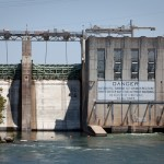 Hydroelectricity generated by Austin's Tom Miller Dam is a renewable source of energy in Texas. Photo by Daniel Reese for KUT News.