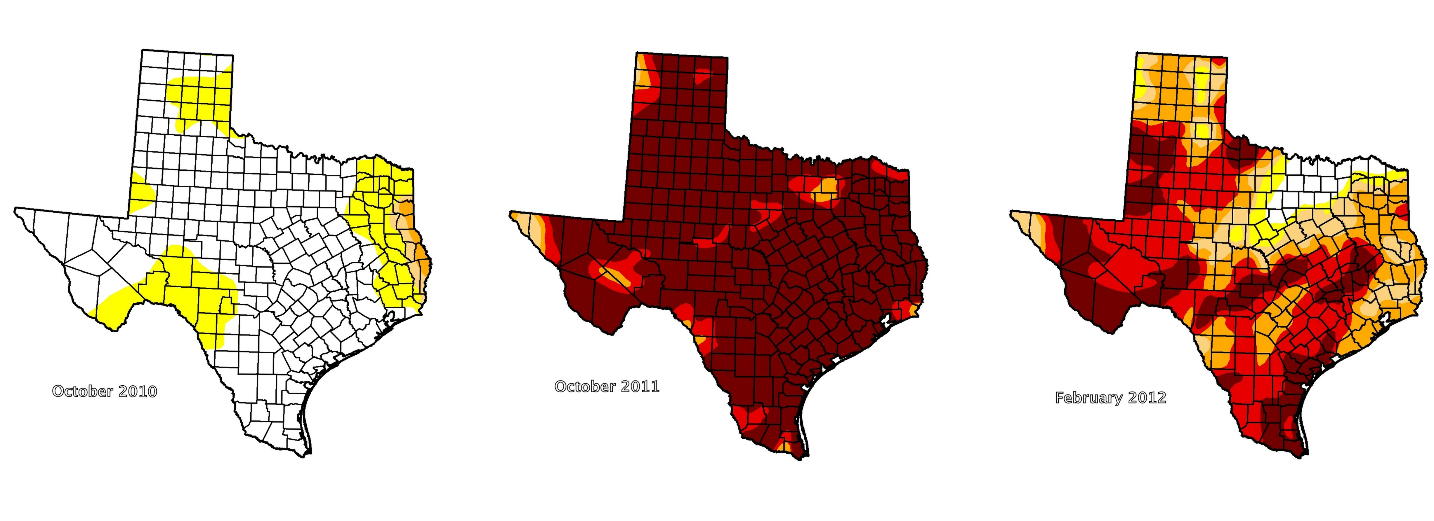 Maps By National Drought Center